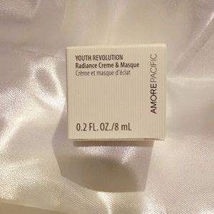 Amore Pacific Youth Revolution mask & cream